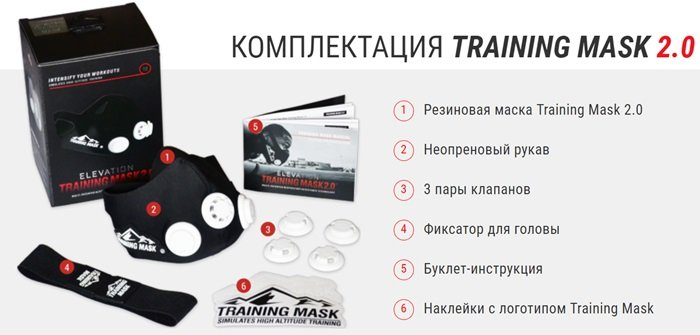 training mask купить